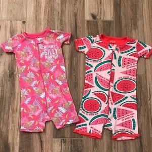 Children's Place 3T Short Pajamas